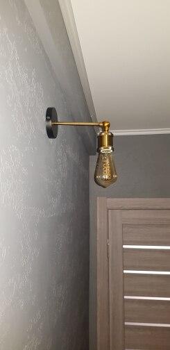 Luminárias de parede Vintage Americano Arandela