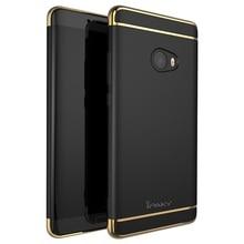 IPAKY Чехол для Xiaomi Mi Примечание 2 Телефон Случаях 3-в-1 Гальванических жесткий Пластиковый Корпус для Xiomi Ми Примечание 2 Мобильный Телефон Мешок Shell