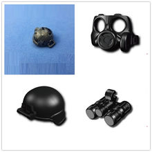 Gas mask Night vision Camouflage tactical helmet Original Blocks Toys Swat Police Military Weapon Model Accessories Mini figures(China)