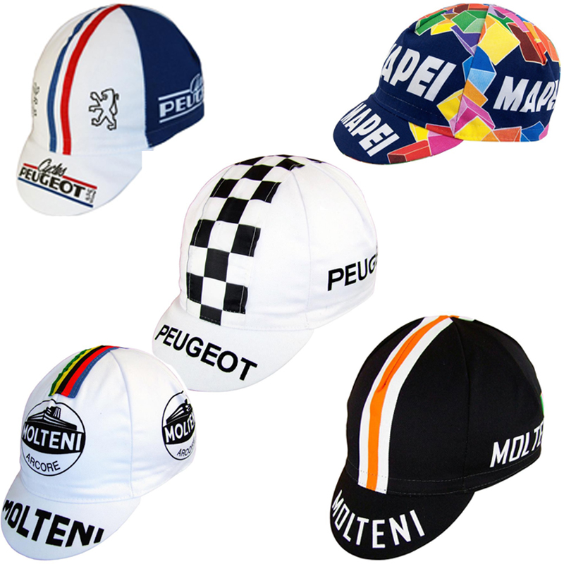 2018  / Peugeot / Mapei /molteni Cycling Caps Men And Women BIKE Wear Cap