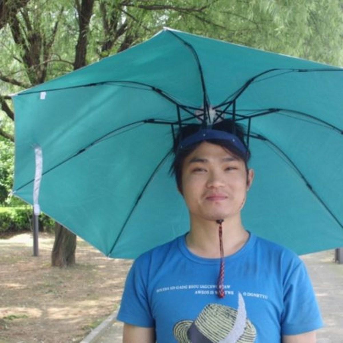 ce4b88dfa3523 Unisex Umbrella Hat Fishing Hunting Large Umbrella Sun Protection Paras UV  Proof Bumber Paraguas Outdoors Rain Gear