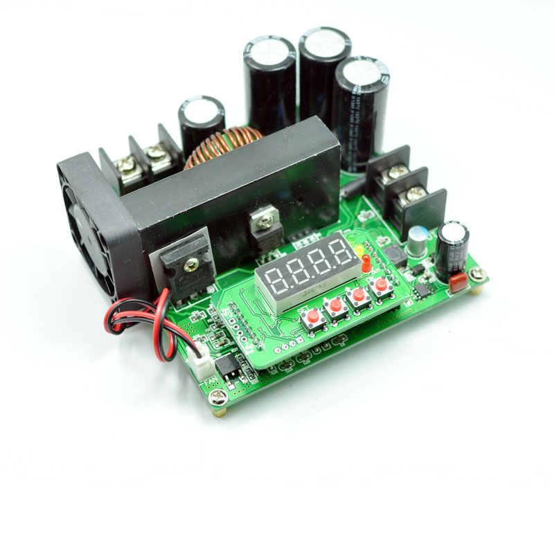 High power dc-dc DC boost module 12v to 24v solar charging high voltage adjustable booster board