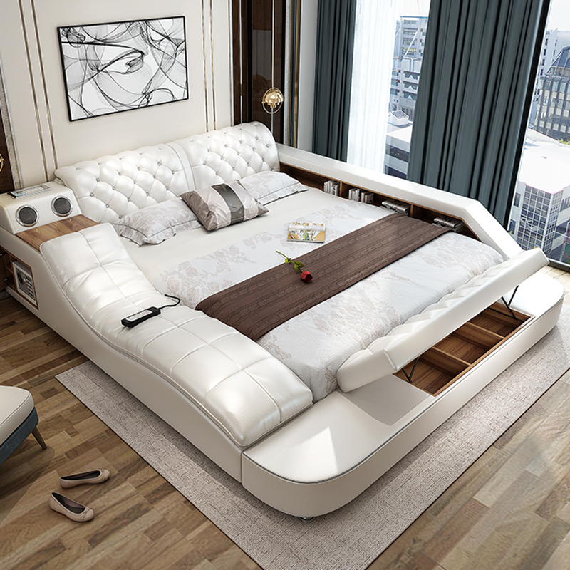 China Factory Bedroom Set Modern Multifunctional Massage Bed In Bedroom Sets From Furniture On