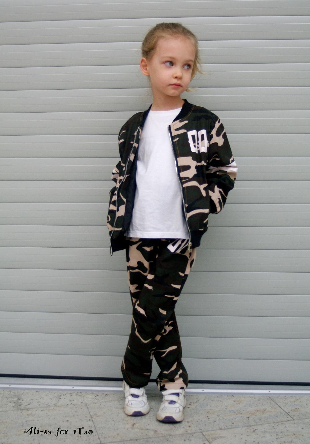 Детский костюм в стиле милитари с Алиэкспресс