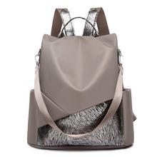 Women Fashion Casual Girls Multifunction Anti-theft Travel Backpacks