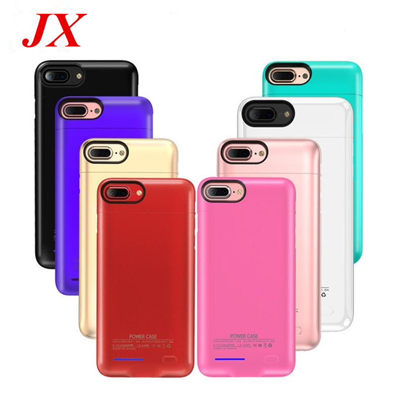 2018 For iPhone 6 6s 7 Battery Charger Case Magnet adsorption stand phone For Iphone 6 6s Plus iphone 7 plus Power Case