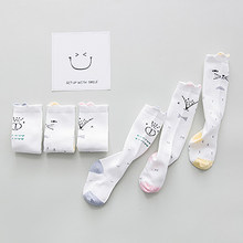 2019 Newborn Toddler Baby Long Socks Cute Cotton Cartoon Casual New Autumn Winter Warm Infant Boys Girls Fashion Sale 0-12M(China)