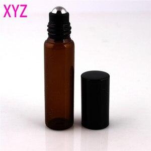 Image 5 - 100 Pieces/Pieces 10ml 1/6oz ROLL ON AMBRA Bottiglia di Profumo di Olio Essenziale di Aromaterapia Palla di Bottiglia di Trasporto Libero