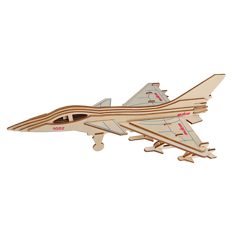 Worldwide delivery 3d puzzle wooden airplane in NaBaRa Online