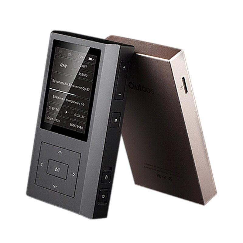 Quloos QLS QA361 AK4495SEQ 6OPA1622 HiFi DSD double horloge femtoseconde lecteur de musique Portable MP3 sans perte
