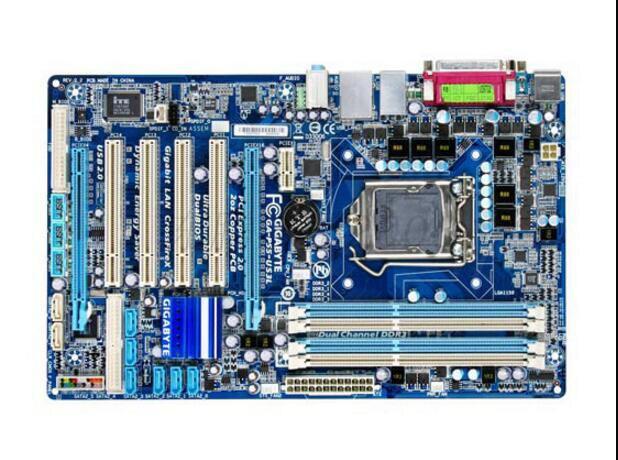 Original Gigabyte GA P55 US3L Desktop Motherboard P55 US3L H55 LGA 1156 i5 i7 DDR3 16G ATX 100% Fully Test-in Motherboards from Computer & Office    1