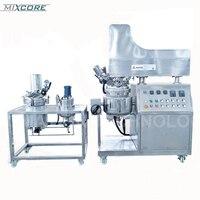 ZJR Button Control Liquid Food And Cream Production Equipment Emulsifying Mixer Vacuum Blender Homogenization Emulsifier