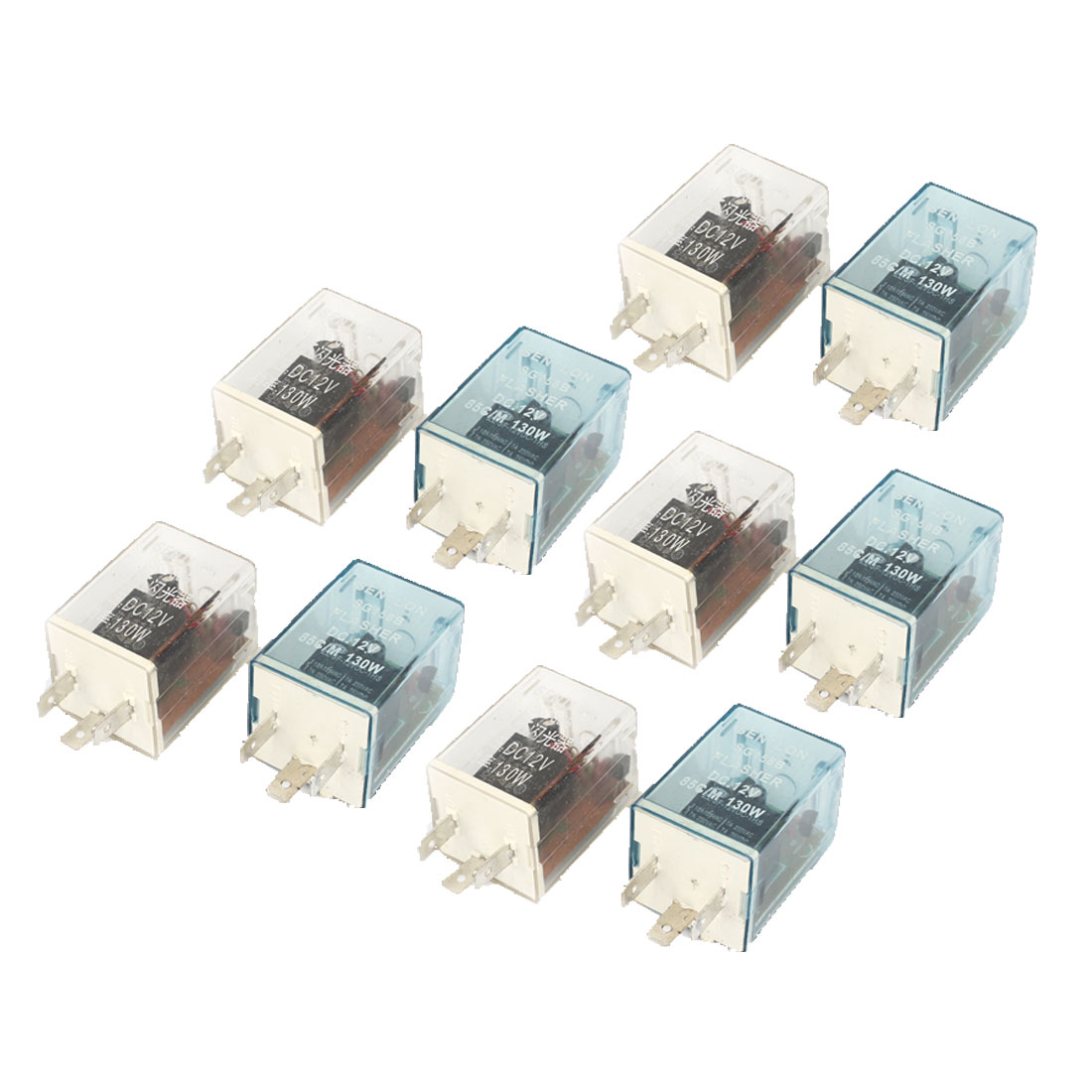 X Autohaux 10 Pcs 12v 3 Terminals Electronic Car Motorcycle Flash Terminal Flasher Relay In Switches Relays From Automobiles Motorcycles On