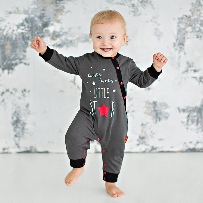 Bossa Nova Baby jumpsuit for boys 503B-462 newborn baby boy girl infant warm cotton outfit jumpsuit romper bodysuit clothes