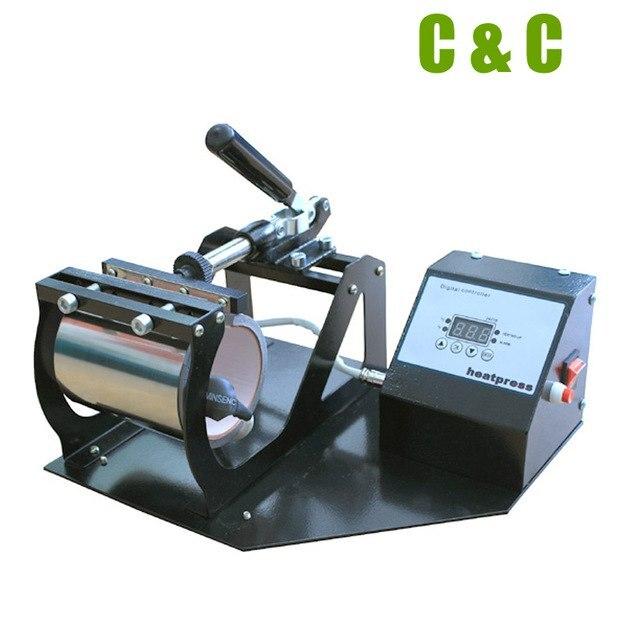 Самый дешевый комбо 17 унций КОНУС 11 унций круглый горизонтальный цифровой ручной кофе чашка отопление передачи печати кружка машина NO. MP160 - 2