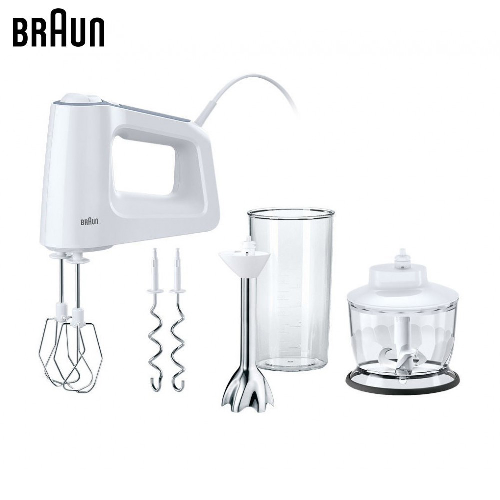 Food Mixers Braun MultiMix 3 Hand mixer blender food processor kitchen mixer mq535 electric smart kitchen food cuisinart stick hand blender mixer immersion for vegetable chopper with cups 110v 220v 700w