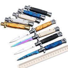 camping couverts tenedor cuchara quality Stainless Steel outdoor portable pocket knife tactical Folding