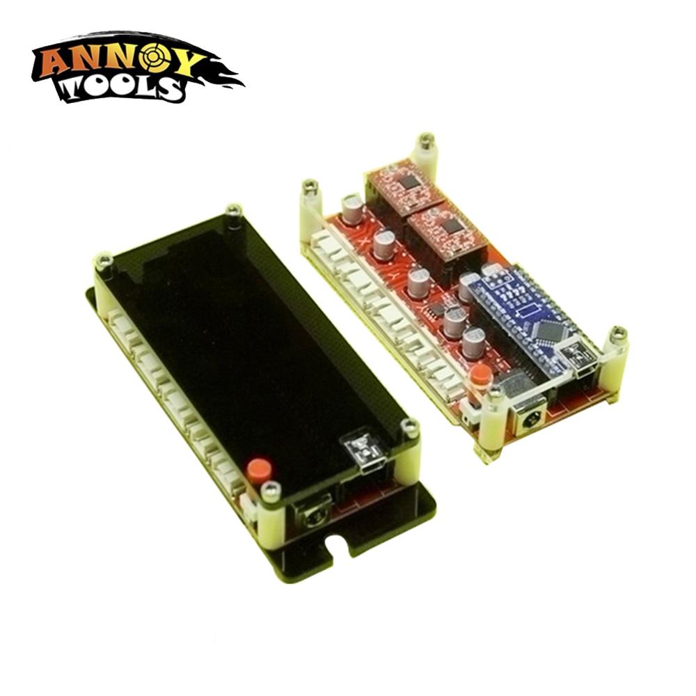 S1 Usb Cnc 2 Axis Stepper Motor Controller Board Mainboard Diy Steppermotorcontroller