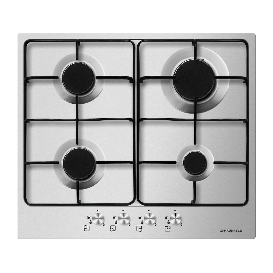 Cooking panel MAUNFELD MGHS 64 62 S stainless steel цена