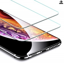 Protector Screen compatible iPhone 5 6 6 S 7 8 PLUS X XR XS MAX-up 10 UNITS- tempered Glass Anti Knocking Premium