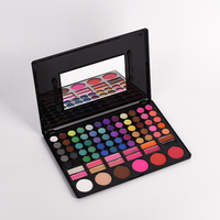 1 Set 78 Color Makeup Eye Shadow Lady Professional Eyeshadow Palette Concealer Modified Eye Shadow Women