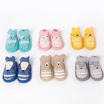 2 pairs Baby antiskid shoes kids home socks shoes floor socks ankle e high socks Lovely fashion soft manual  1