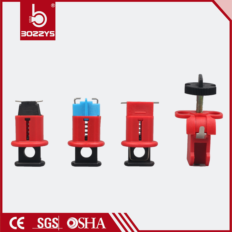 Small circuit breaker lock energy isolation air switch electrical Inside of the needle outward Lock up Safety lock 4 models BD-D Замок