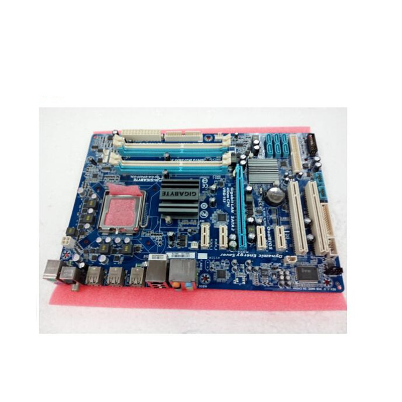 Gigabyte Desktop Motherboard P43-Socket DDR3 Lga 775 GA-EP43T-S3L ATX Used for On-Sale