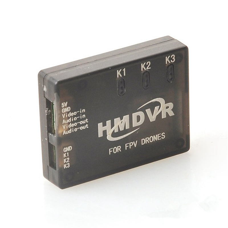 Original HMDVR Mini DVR Video Audio Recorder For FPV Multicopters RC Racing Drone Quadcopter Spare Parts Playback VS Eachine DVR fpv 1 2ghz 100mw 4ch wireless audio