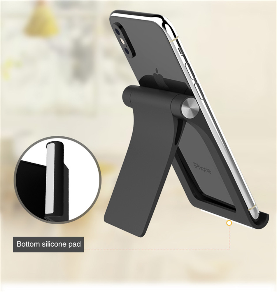 Universal Adjustable Phone Holder Stand For 7 8 Plus X Mobile Phones Hard PC Folding Tablet Stand Holder For S9 (8)