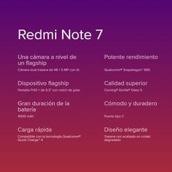 "[Wersja globalna] Xiaomi Redmi Note 7 Smartphone HD+ 6,3""(RAM 4 GB + ROM 64 GB, 4000 mAh baterii, 48 MP aparat) 4"