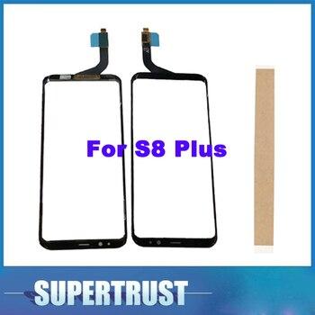 Перейти на Алиэкспресс и купить Оригинальное качество 6,2 дюйма для Samsung Galaxy S8 + Exynos S8 plus S8plus SM-G955F G955F G955FD сенсорный экран передний стеклянный датчик