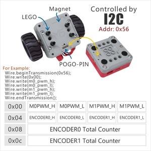 Image 3 - M5Satck nouvelle voiture BALA! ESP32 développement Mini voiture auto équilibrante électrique 2DC moteur avec encodeur Kit PSRAM MPU6886 BLE