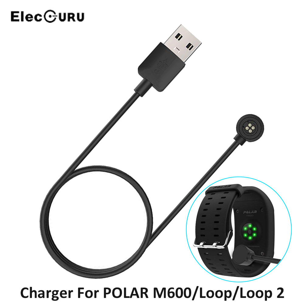 Smart Watch USB Data Sync Charger For POLAR M600/Loop/Loop 2 Watch Quick Charging Dock Cradle Magnetic Charging Cable For POLAR smart watch charger cradle with usb charging cable for huawei watch 1 band power charge dock station magnetic charger for huawei