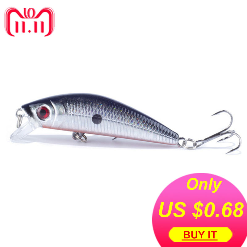 1PCS Brand Lifelike Minnow Fishing Lure 7CM 8.5G 6# Hooks Fish Wobbler Tackle Crankbait Artificial Japan Hard Bait Swimbait цена