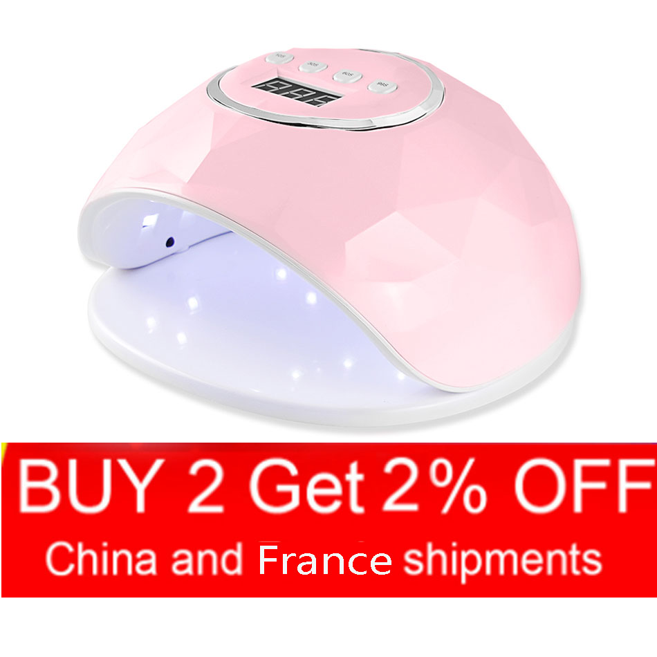 10s/30s/60s/99s UV Lamp Nail Dryer Pro UV LED Gel Nail Lamp 86W Fast Curing Gel Polish Ice Lamp for Nail Manicure Machine image