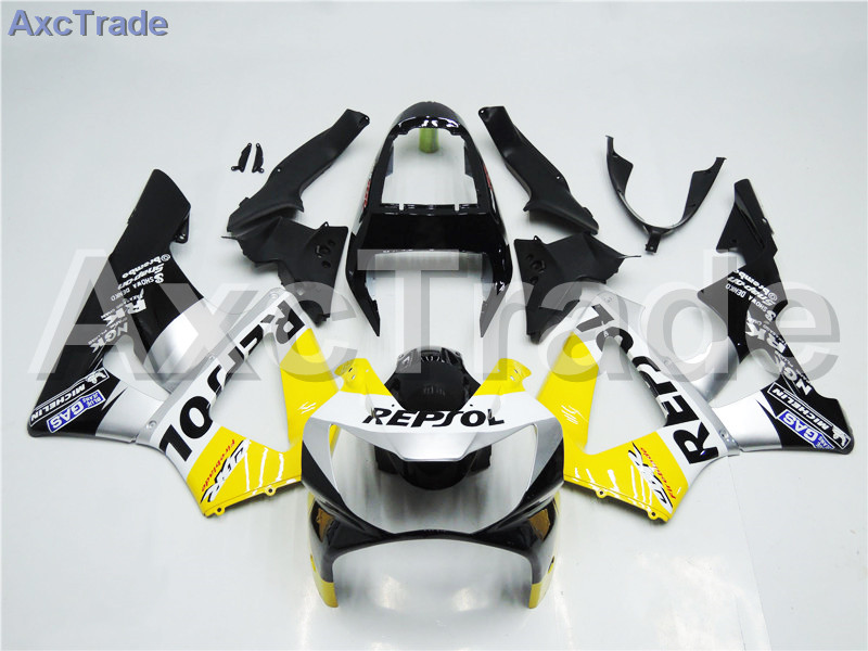Motorcycle Fairings For Honda CBR 929 RR 2000 2001 CBR900RR ABS Plastic Fairing Kit Bodywork 929RR 00 01 CBR 900 Yellow Black