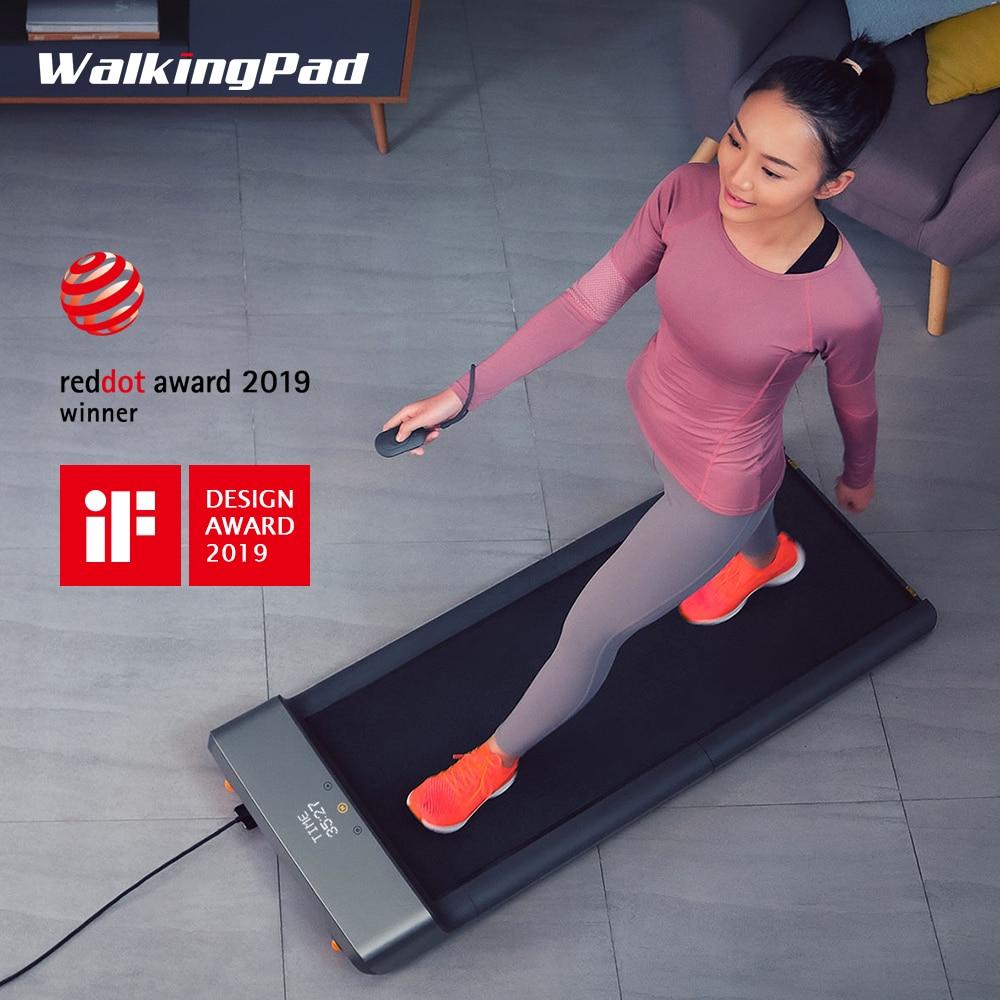 WalkingPad A1 appareil de Fitness à pied pliable intelligent tapis roulant Sport léger équipement de bureau à domicile par Xiaomi chaîne écologique produire