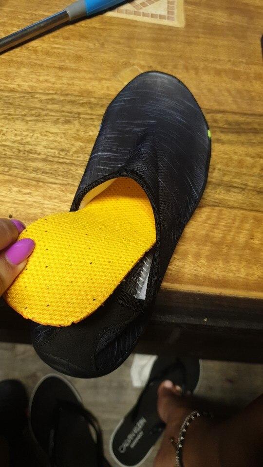 Sapatos de natação natação descalços chinelos