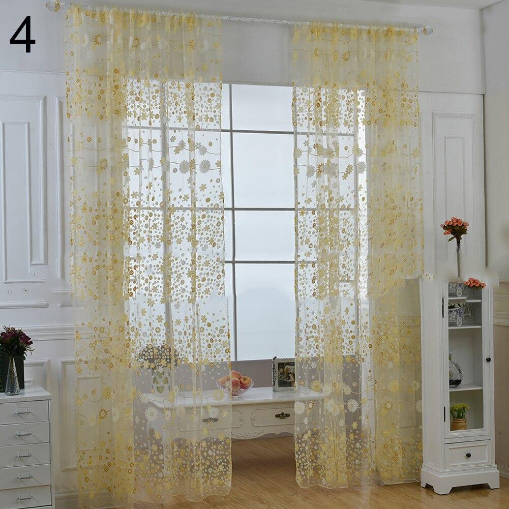 Vorhänge Haus & Garten Bestickt Schmetterling Vorhänge Für Wohnzimmer Hochzeit Kinder Delicate Landschaft Französisch Fenster Rideaux P344c