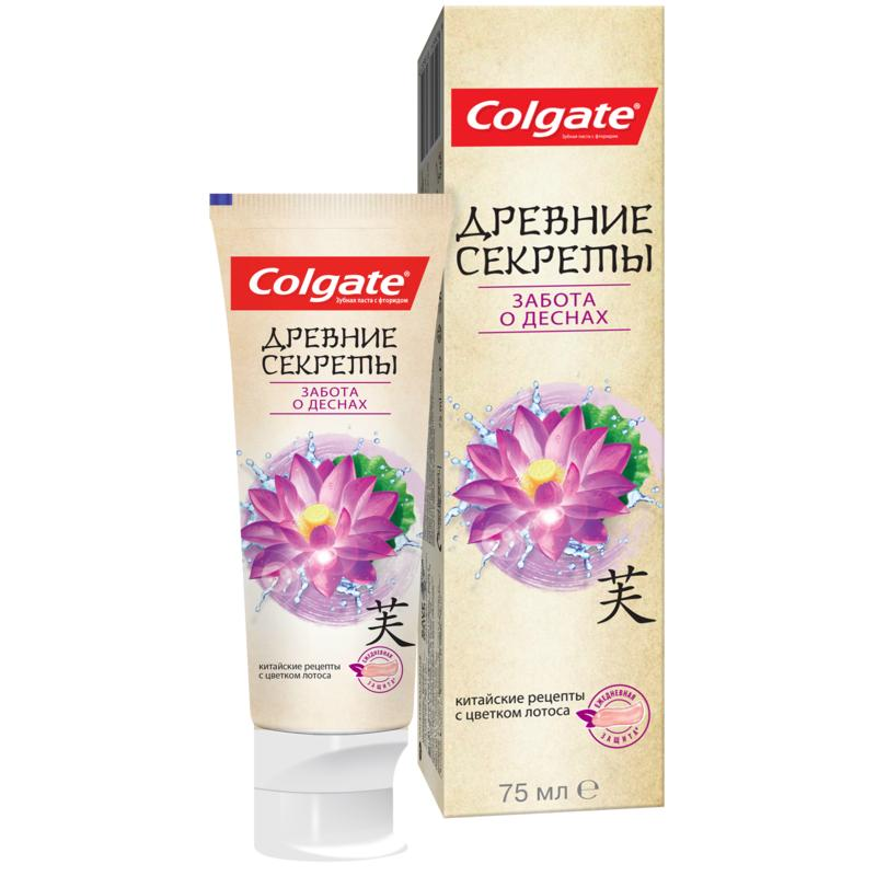 COLGATE Ancient Secrets, Grooming for the Gums toothpaste, 75 ml colgate optic white sparkling white whitening toothpaste 75 ml