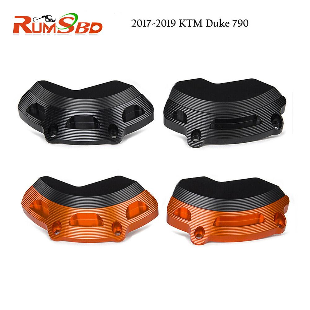 Left Rigt Engine Case Slider Protector Guard For <font><b>KTM</b></font> <font><b>790</b></font> <font><b>Duke</b></font> 2018 2019 Duke790 Motorcycle Accessories Parts Engine Protection image