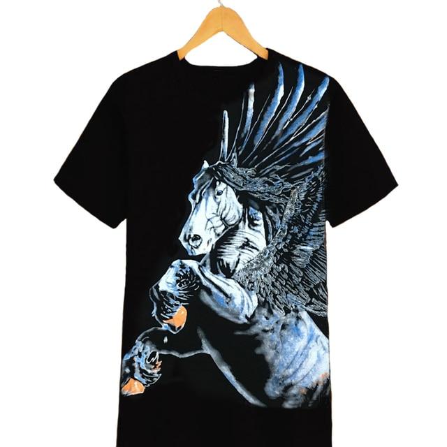 1a65e72474c0b0 2017 Summer New Men o-neck chinoiserie Short Sleeve T-shirts Big Man King  Size 6XL 7XL 8XL plus size t shirt big size
