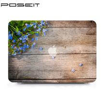 Cover Color Shell Case For Apple Macbook Air 13″ A1369 A1466 For Mac book 11.6 13.3 15.4 Hard Shell Cover -Wood grain color