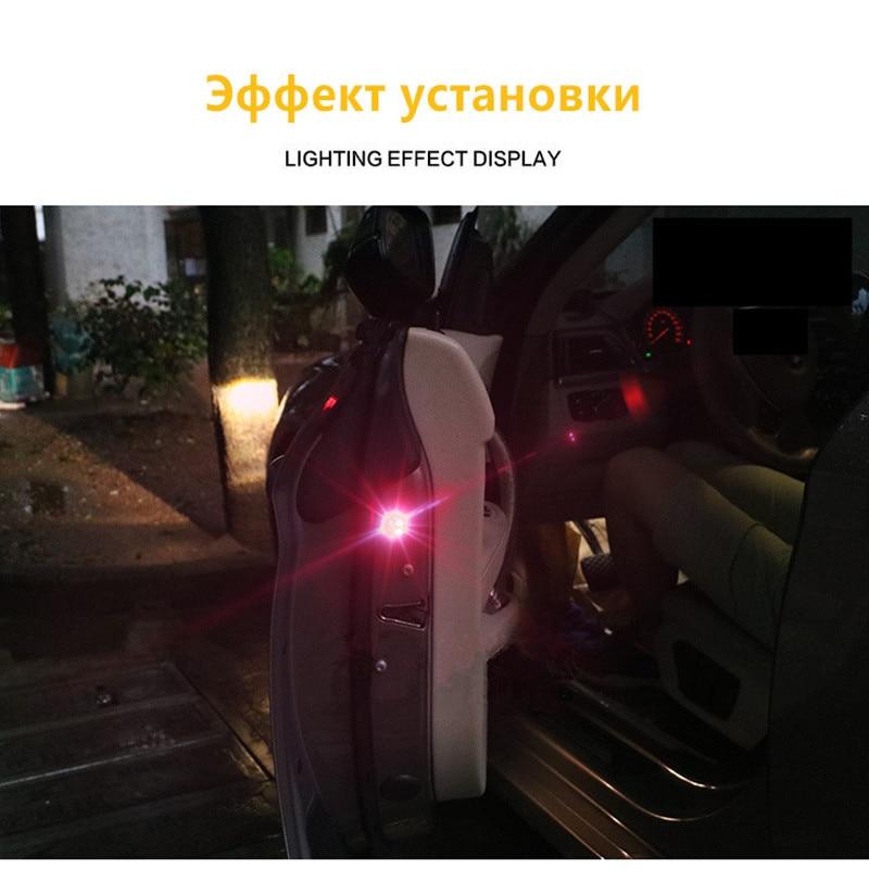 Autotür Sicherheitsreflektor Antikollisions Warnung Led leuchten ...