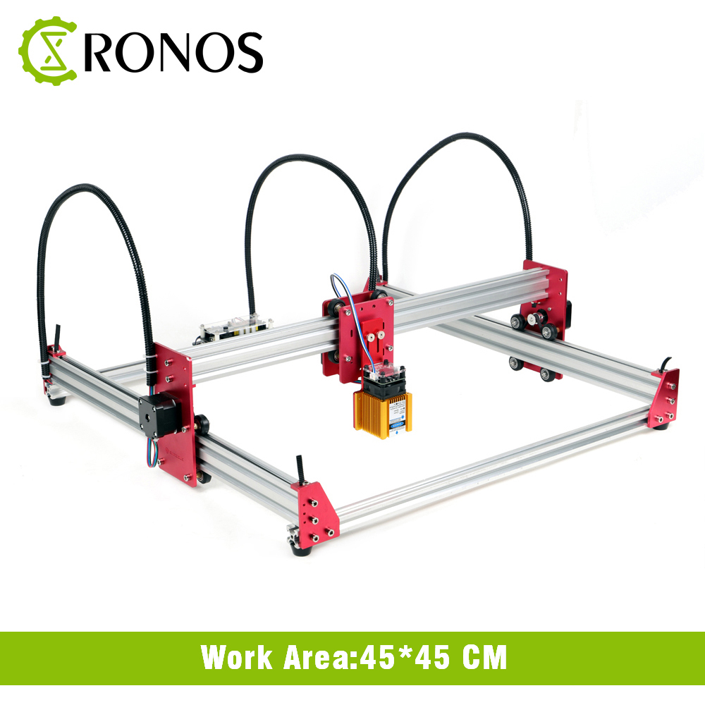 5500mW/15W DIY Laser Engraver Machine 45*45 Engraving Machine 2Axis Wood Router Mini Marking Machine Advanced Toys