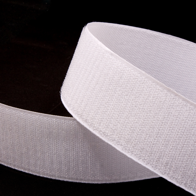 Sew On Hook And Loop Tape White Black 25 Metre Rolls Crafts DIY Various Sizes