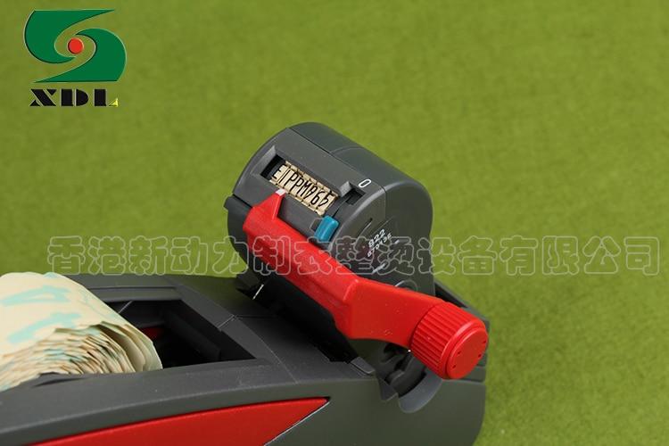Meto 822 Prijs Etikettering Pistool, 1 Doos Witte Etiketten, Gratis Inkt Roller Value Pack