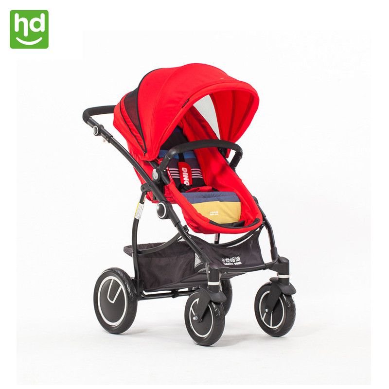 Four Wheels Stroller Foldable HAPPY DINO LC798 Kidstravel
