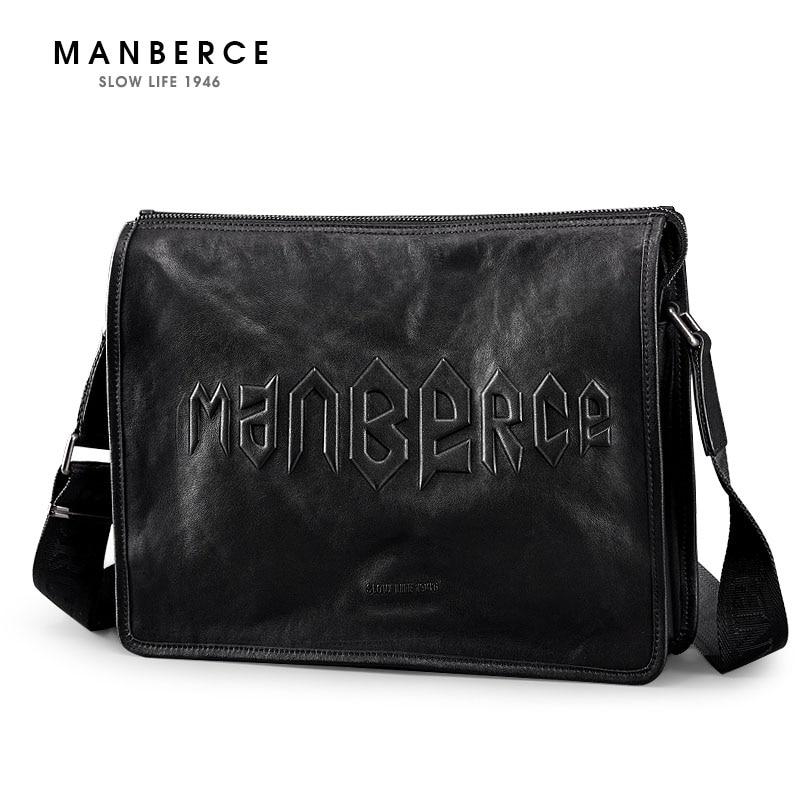 cc8482878e0b6 Ürün Daha MANBERCE erkek omuz çantası Inek Derisi askılı çanta Br... Fiyat:  140BIZE $70/Fiyat MANBERCE Marka Yeni ...